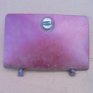 1976-86 Jeep CJ Locking Style Glove Box Lid wo Key $39 used