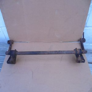 1976-86 Jeep CJ Factory Front Sway Bar w Frame Mounts links have been cut and may need new bushings,sold as pictured