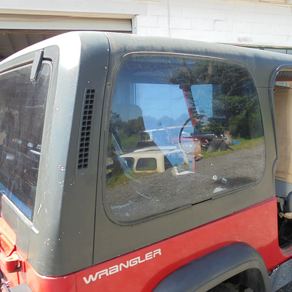 1987-95 Jeep YJ Factory Hard Top many colors to pick from 2